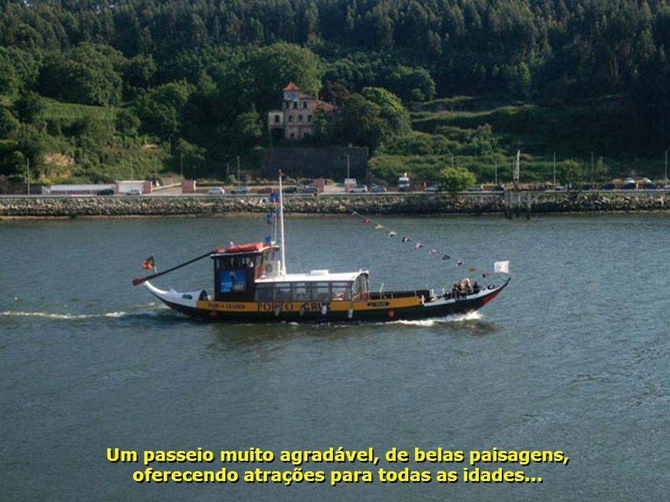 A cidade do Porto oferece muitas outras atrações aqui não mostradas. Isso tudo somado à hospitalidade dessa gente, que, com enorme carinho, recebe seu