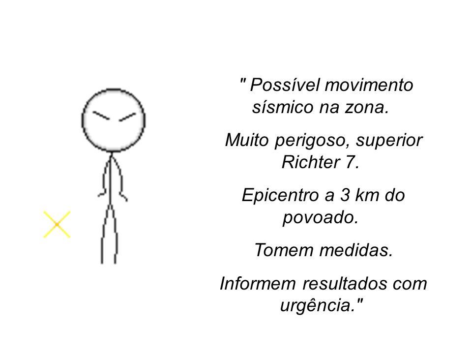 Então, foi enviado pelo Centro Sísmico Nacional ao quartel da polícia da cidade de Vila Moura, no norte de Portugal, um telegrama que dizia: