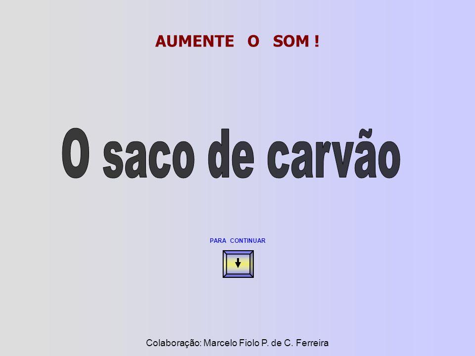 AUMENTE O SOM ! PARA CONTINUAR Colaboração: Marcelo Fiolo P. de C. Ferreira