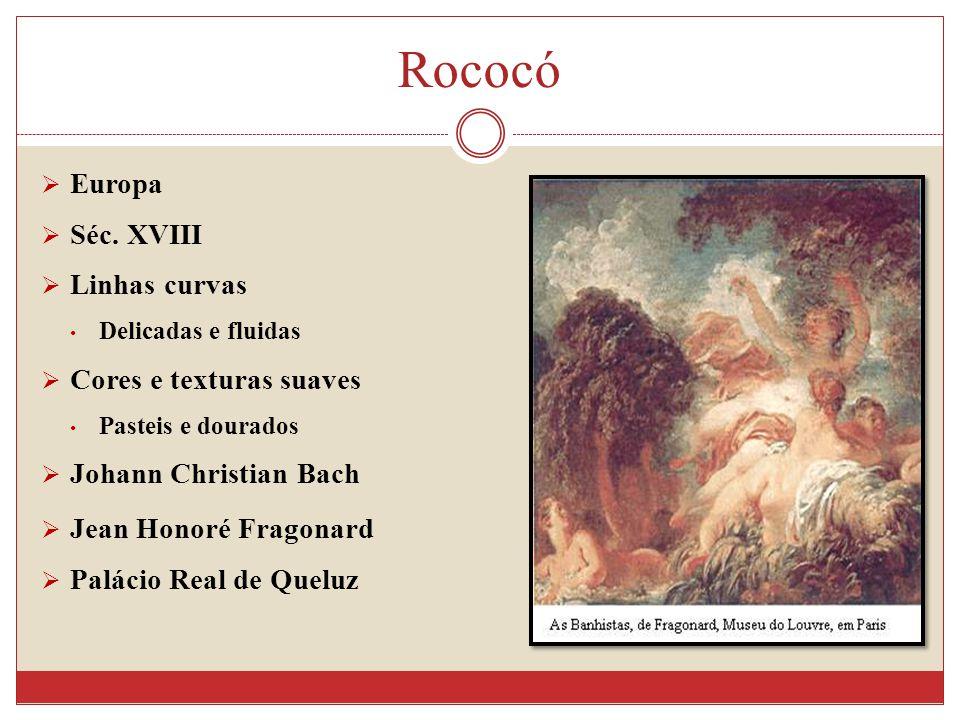 Rococó Europa Séc.