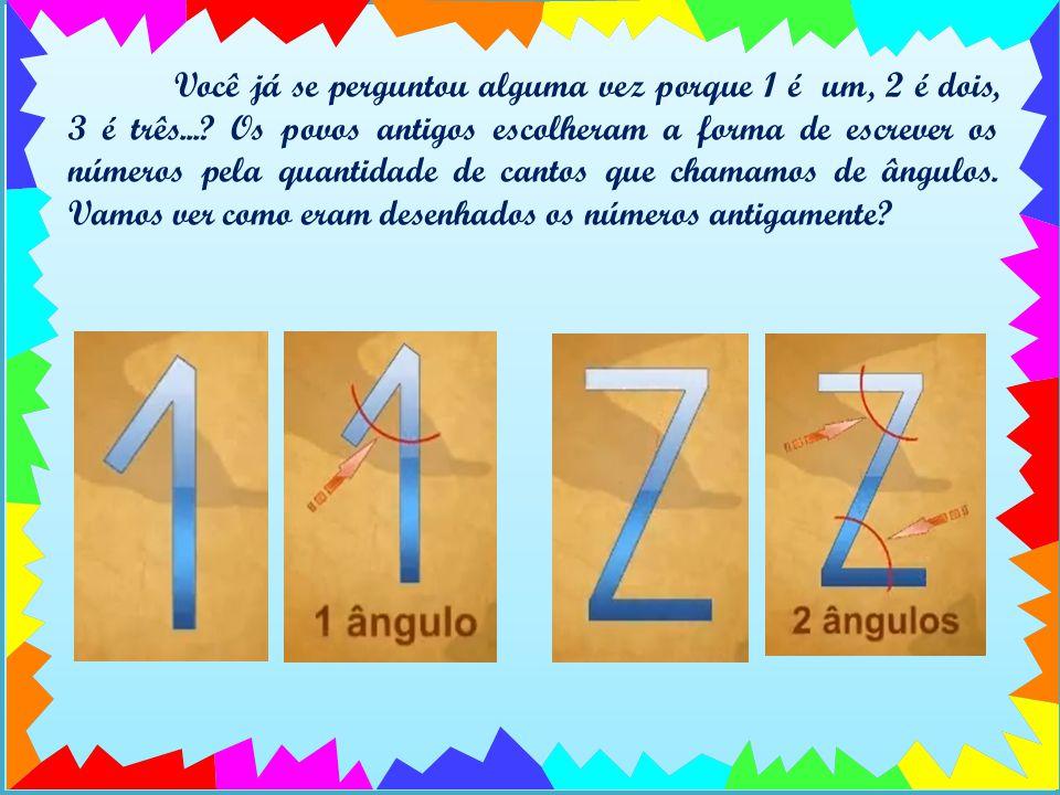 Você já se perguntou alguma vez porque 1 é um, 2 é dois, 3 é três....
