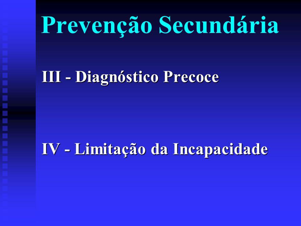 II - Proteção Específica Imunização Imunização Saúde ocupacional Saúde ocupacional Higiene pessoal e do lar Higiene pessoal e do lar Proteção contra a