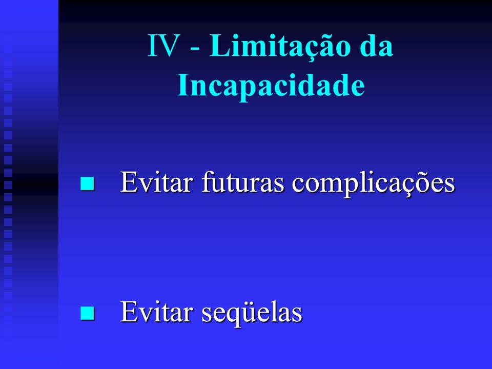 III - Diagnóstico Precoce Inquéritos para descobertas de casos na comunidade Inquéritos para descobertas de casos na comunidade Exames periódicos, ind