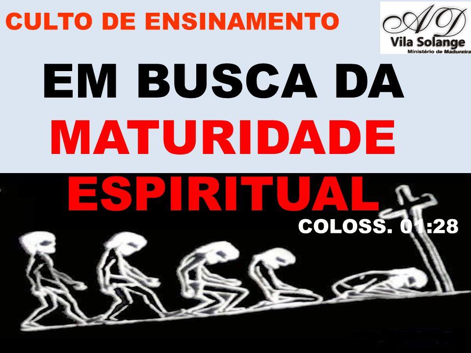 www.advilasolange.com.br PRINCÍPIOS QUE REGEM A LEI DA SEMEADURA CULTO DE ENSINAMENTO EM BUSCA DA MATURIDADE ESPIRITUAL GALATAS 06:07-10