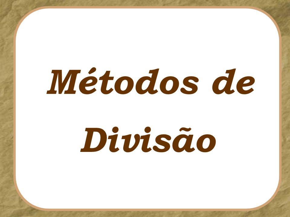 Divisão Métodos de