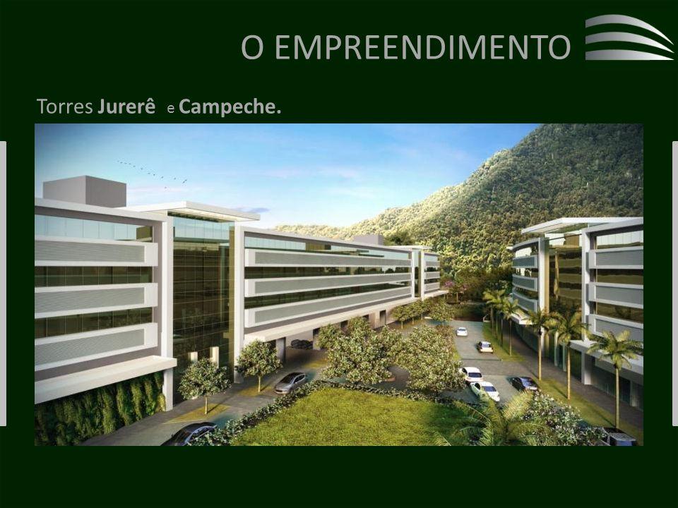 O EMPREENDIMENTO Torres Jurerê e Campeche.