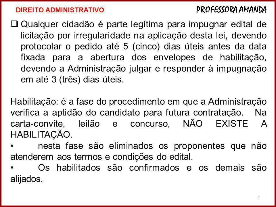 4 Qualquer cidadão é parte legítima para impugnar edital de licitação por irregularidade na aplicação desta lei, devendo protocolar o pedido até 5 (ci