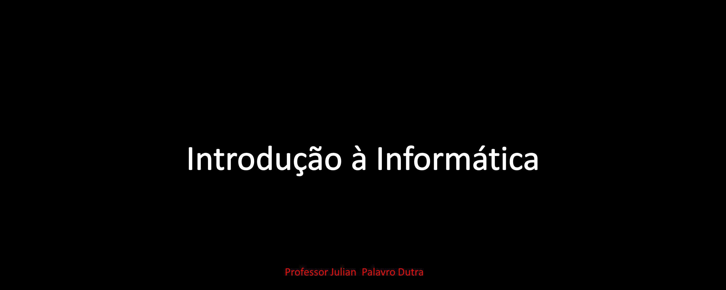 Professor Julian Palavro Dutra