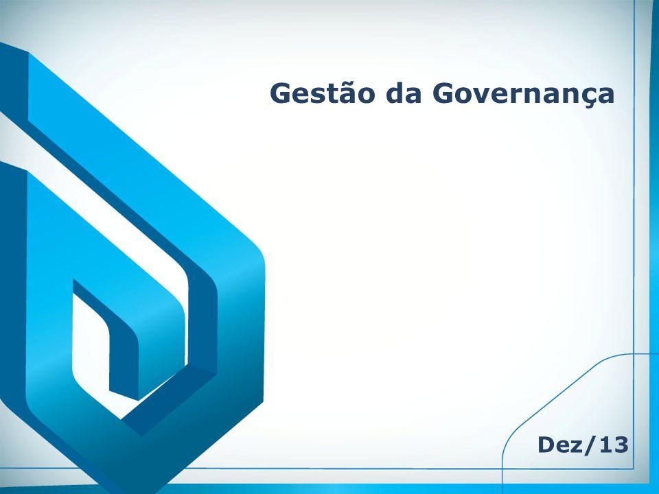 Gestão da Governança Dez/13