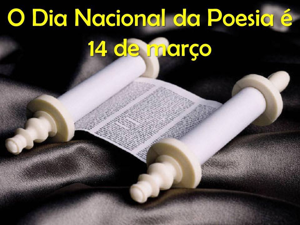POETA Canta, poeta, os hinos, com que o silêncio acordas, A natureza é uma harpa presa nas mãos de Deus.