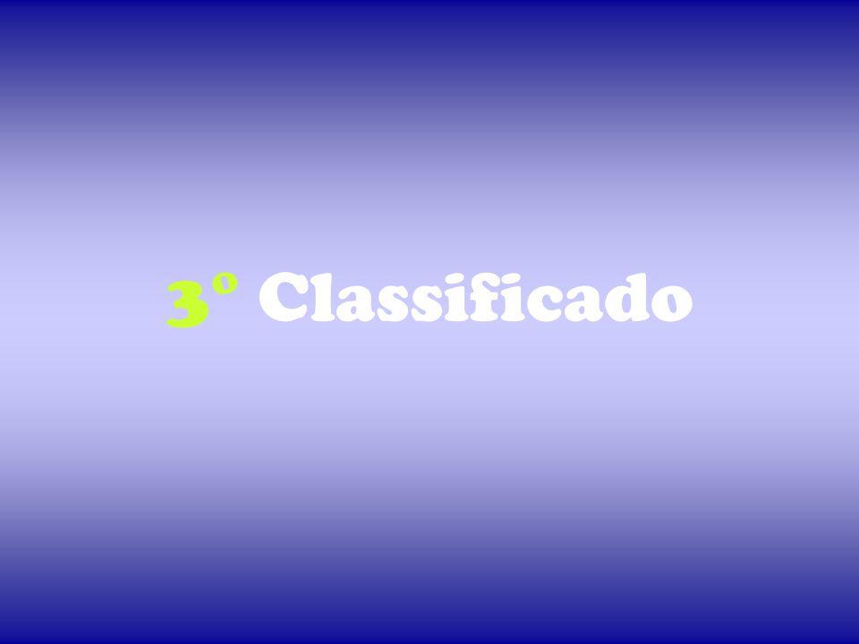 3° Classificado