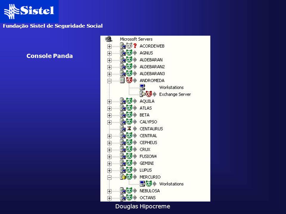 Fundação Sistel de Seguridade Social Douglas Hipocreme Console Panda