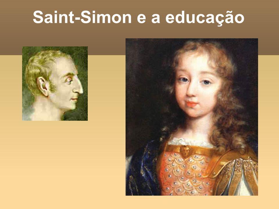 Saint-Simon e a educação