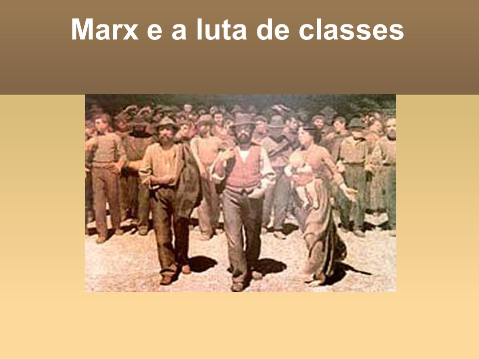 Marx e a luta de classes