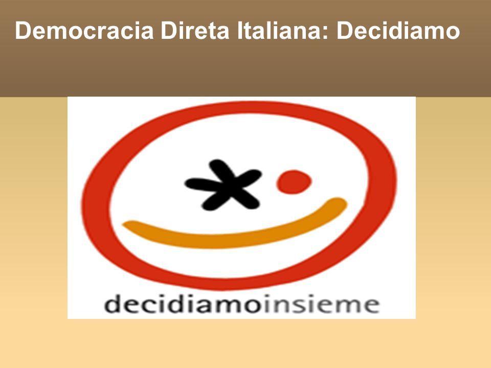 Democracia Direta Italiana: Decidiamo