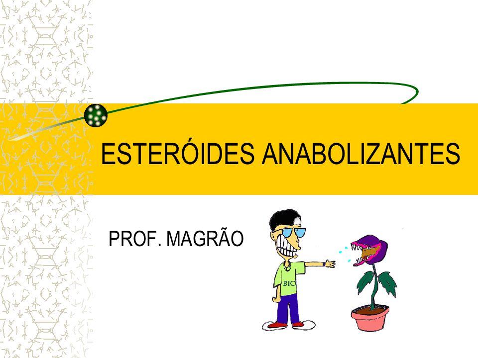 ESTERÓIDES ANABOLIZANTES PROF. MAGRÃO