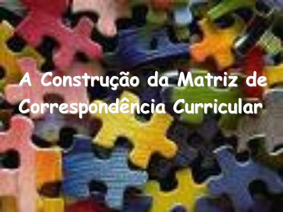 A Construção da Matriz de Correspondência Curricular