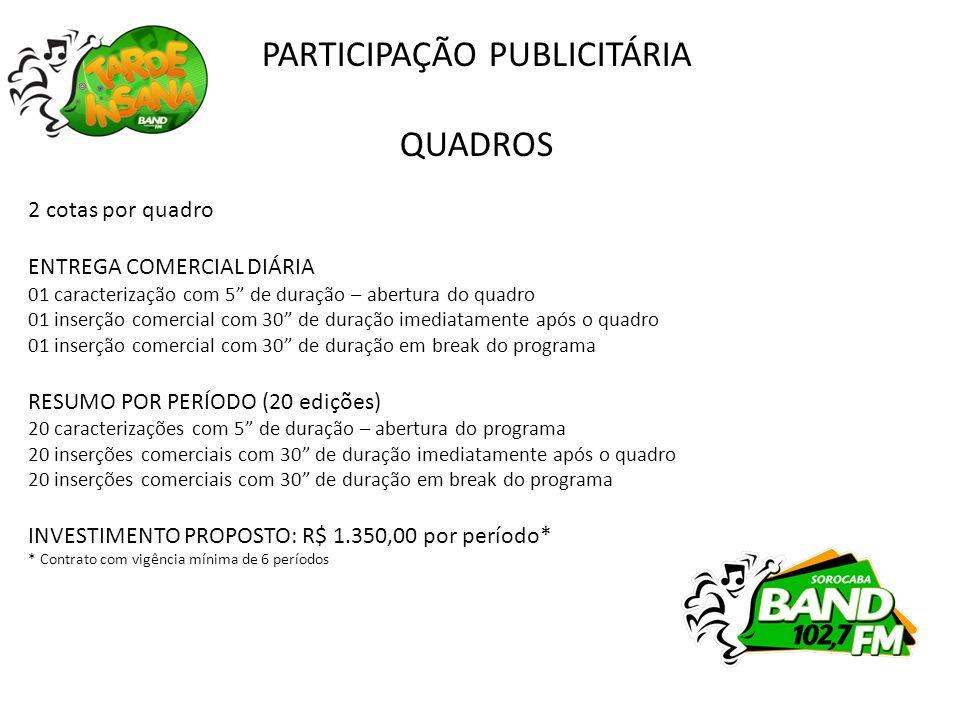 BAND SOROCABA Rua Imperatriz Leopoldina, 41 – Mangal Comercial 15 3229.0222 www.bandsorocaba.com.br