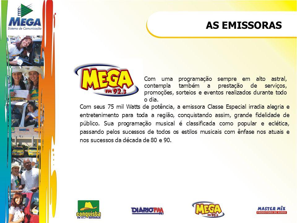 PROGRAMAS CONQUISTA FM CLÁSSICOS DA CONQUISTA Um programa que reúne os grandes sucessos que marcaram e marcam a música sertaneja.