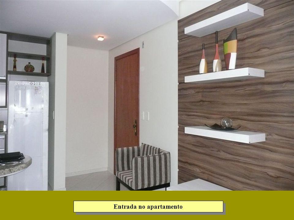 Entrada no apartamento