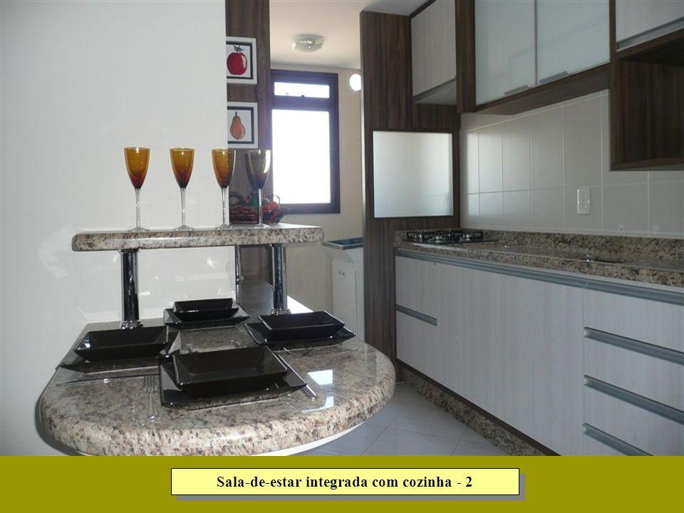 Sala-de-estar integrada com cozinha - 2
