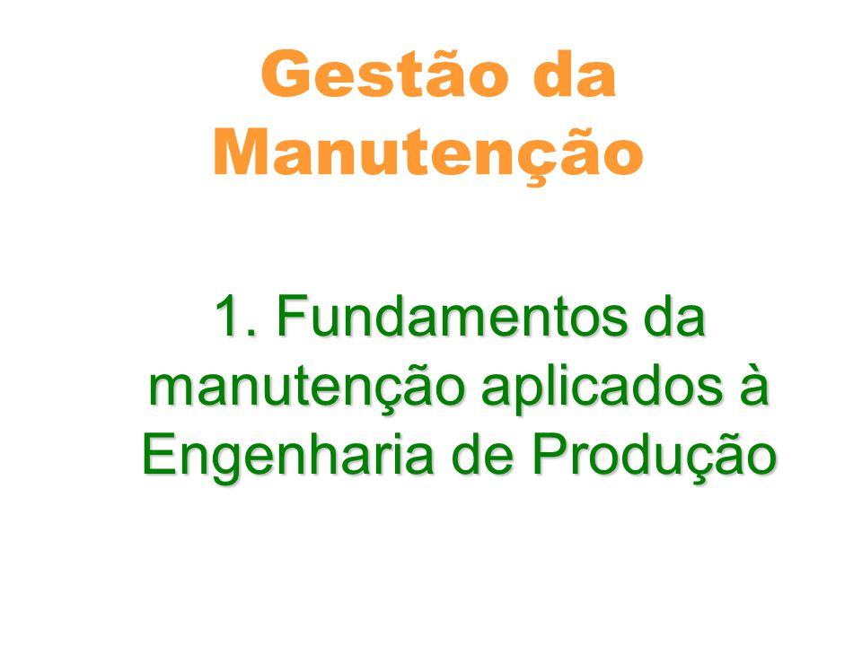 Fundamentos da manutenção aplicados à Engenharia de Produção - Evolução da manutenção(Histórico) - Evolução da manutenção(Histórico) Fim do século XIX até 1914- Mecanização das Industrias, produção em série(FORD).