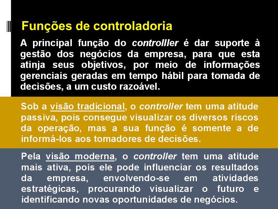 Funções de controladoria