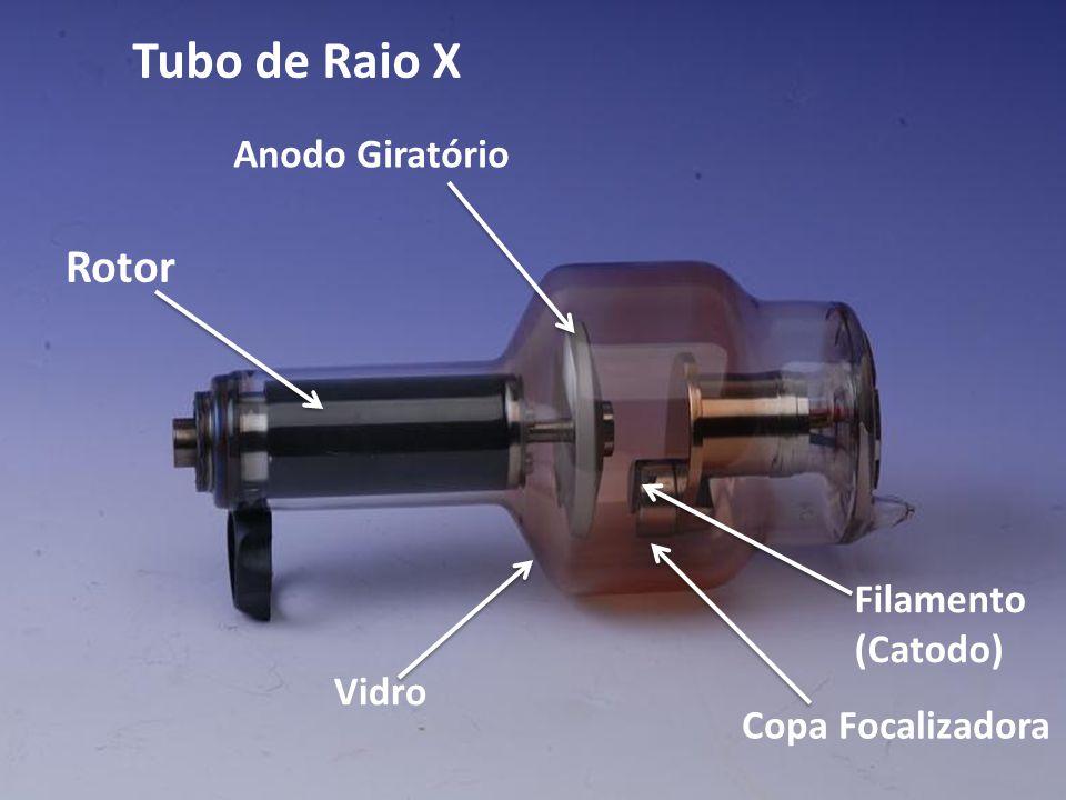 Tubo de Raio X Rotor Anodo Giratório Vidro Filamento (Catodo) Copa Focalizadora