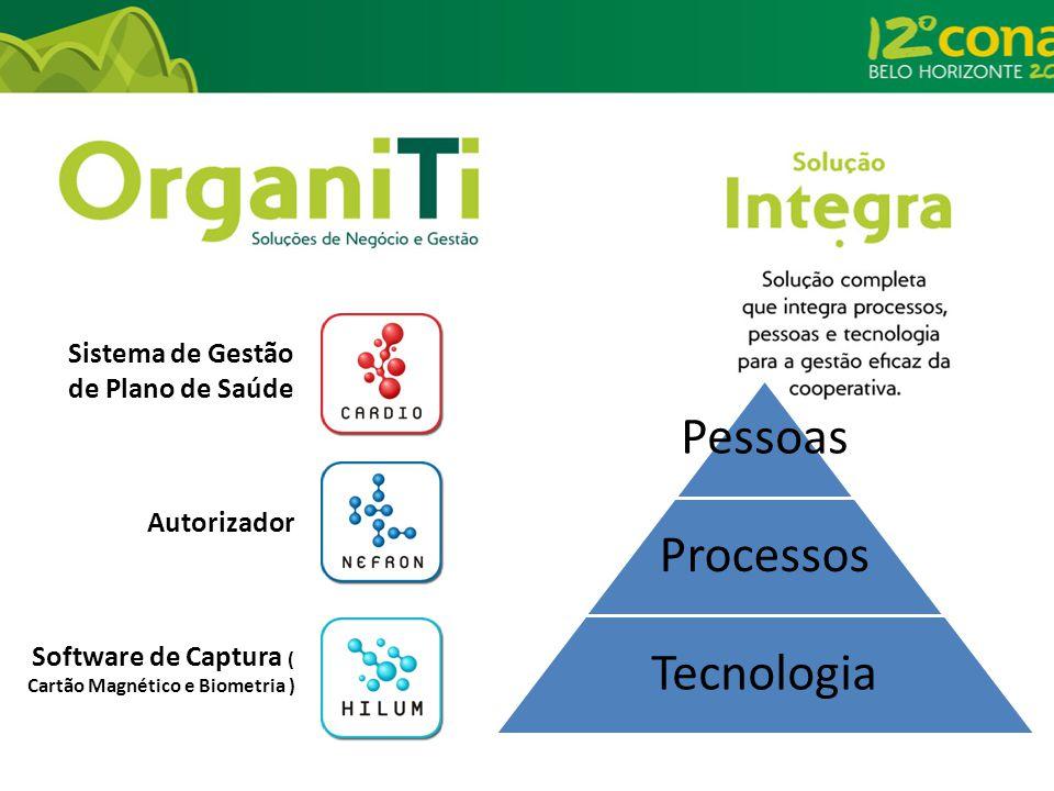 Sistema de Gestão de Plano de Saúde Autorizador Software de Captura ( Cartão Magnético e Biometria ) Pessoas Processos Tecnologia
