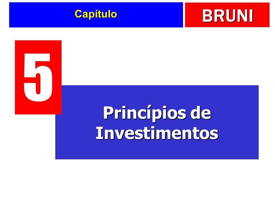 BRUNI Capítulo Princípios de Investimentos 5