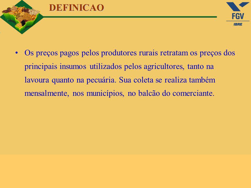 A s estatísticas agropecuárias da FGV têm grande utilidade e despertam interesse.