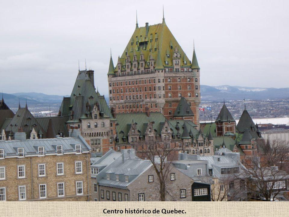 Centro histórico de Quebec.