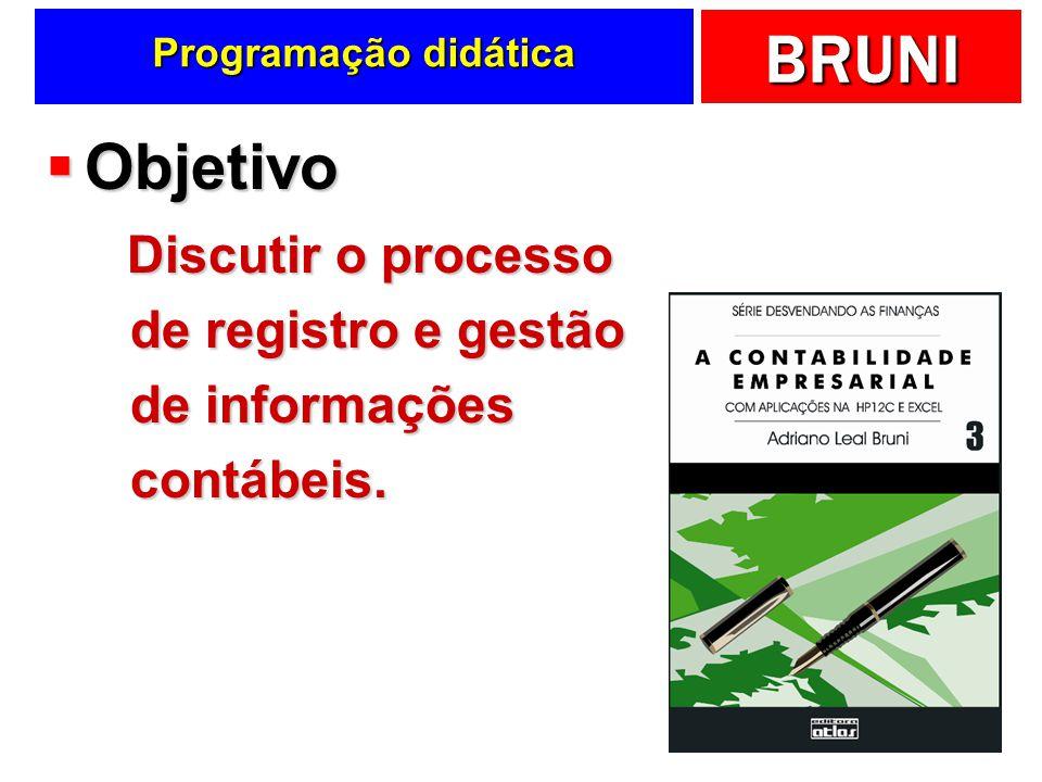 BRUNI Slides de apoio ao livro Todo o conteúdo dos slides está apresentado no livro A Contabilidade Empresarial, publicado pela Editora Atlas. Adriano