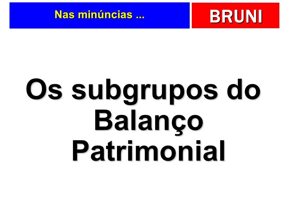 BRUNI Gabarito … AtivosPassivosTotalTotal Patrimônio Líquido Ativo Permanente Passivo Circulante Ativo Circulante Exigível L.P. Realizável L.P. Respos