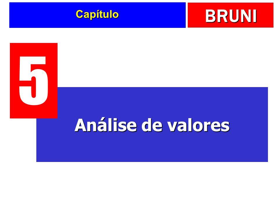 BRUNI Capítulo Análise de valores 5