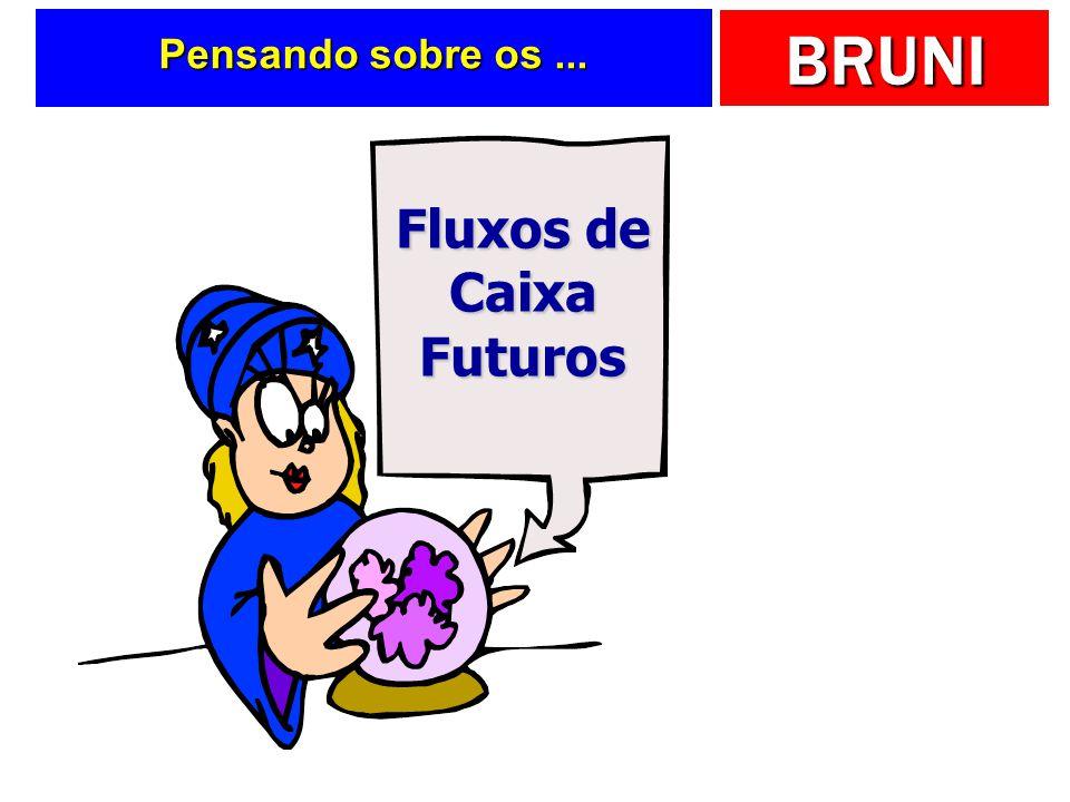 BRUNI Pensando sobre os... Fluxos de Caixa Futuros