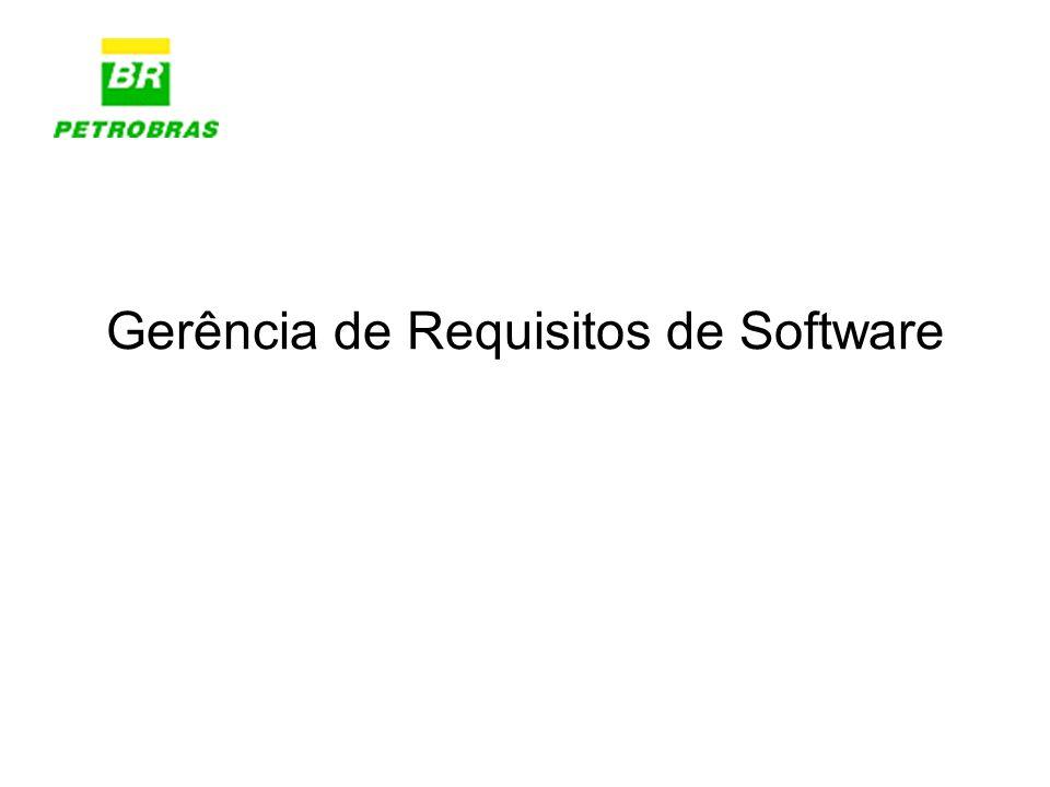 Documento de Visão VOB/View Documento de Solução (Aprovada) NTI Requisite Pro (Access) Clear Case Documento de Visão Requisite Pro (Oracle) Documento de Visão Versionado Clear Case Requisite Pro (Oracle) Responsável Pela Solução Administrador de ReqPro Gerência de Configuração