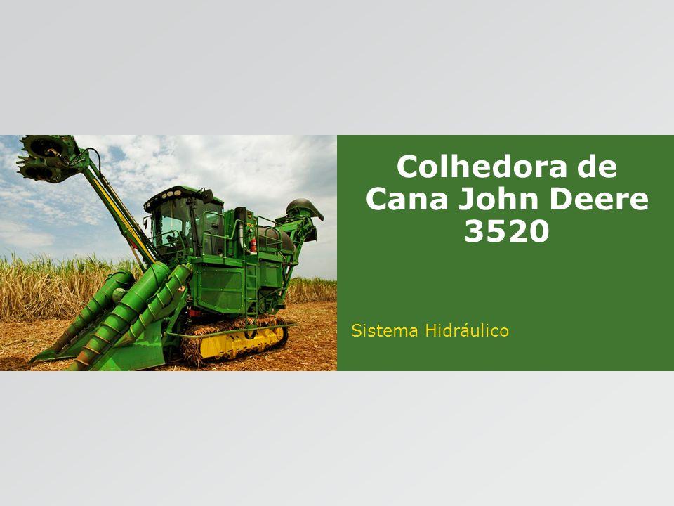 Colhedora de Cana John Deere 3520 Sistema Hidráulico