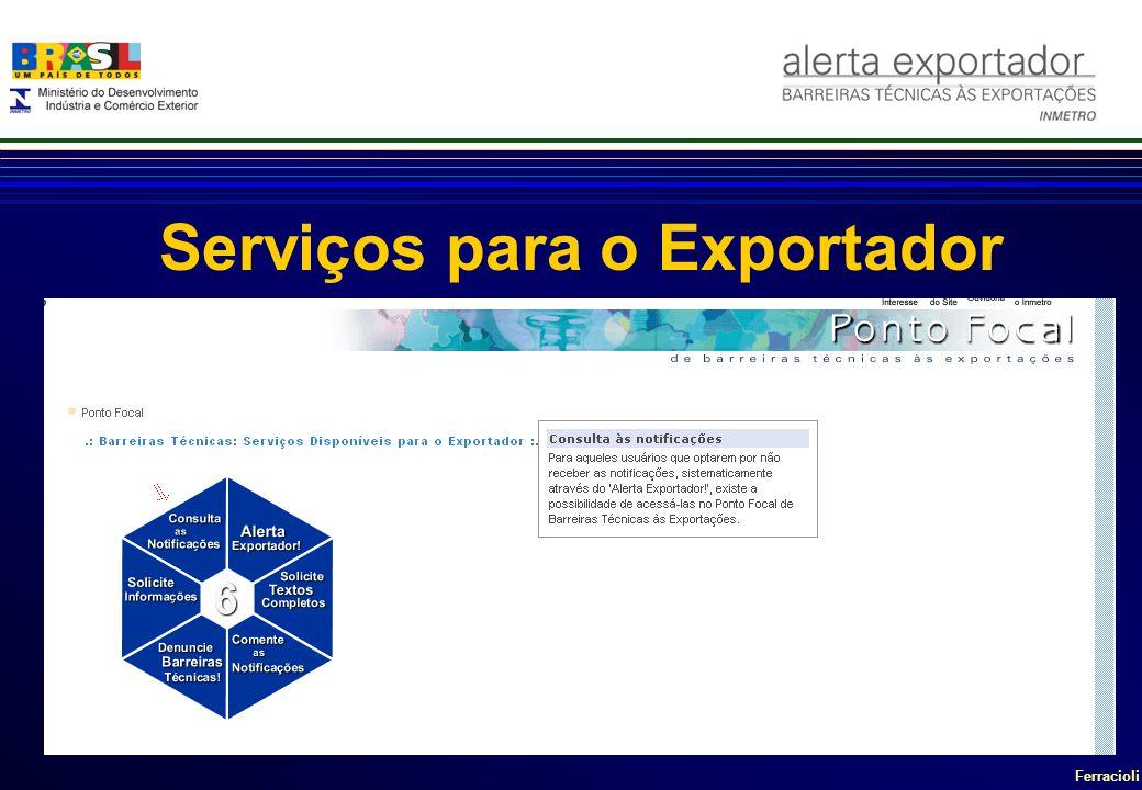 Serviços para o Exportador
