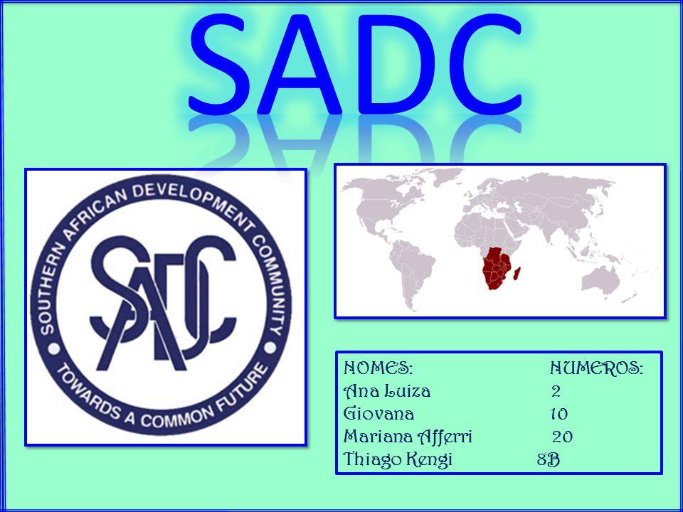 Brasil Em 29 de março foi redigido um acordo de cooperação e parceria entre os países membros do SDAC e o Brasil, sendo promulgado em 7 de fevereiro de 2013, tornando-se o Decreto no.