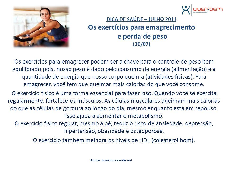 DICA DE POSTURA – JULHO 2011 Dicas para evitar dores em sua coluna (27/07) Dores nas costas, torcicolos ou mesmo dores nas pernas são queixas comuns, principalmente aos trabalhadores de regime sedentário.