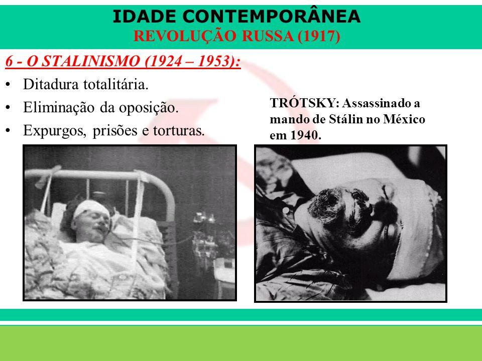 IDADE CONTEMPORÂNEA Sartre COC lenefidelis@terra.com.br REVOLUÇÃO RUSSA (1917) A disputa de poder: –1924 – Lênin morre.
