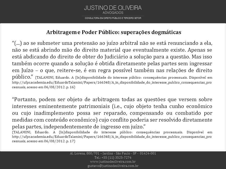 Al. Lorena, 800/701 – Jardins - São Paulo - SP - 01424-001 Tel.: +55 (11) 3525-7274 www.justinodeoliveira.com.br gustavo@justinodeoliveira.com.br (...