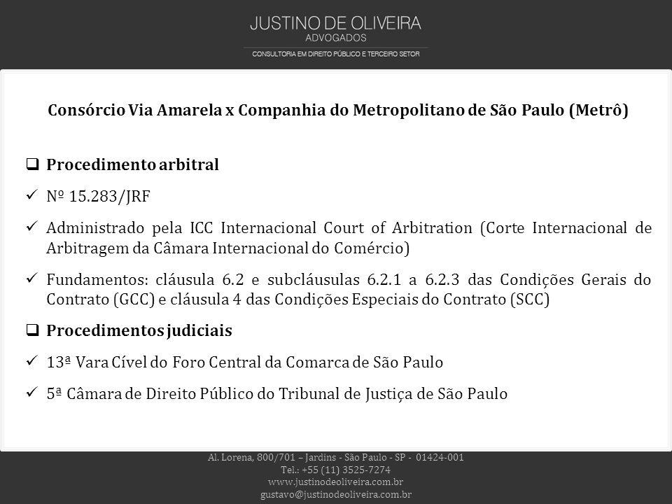Al. Lorena, 800/701 – Jardins - São Paulo - SP - 01424-001 Tel.: +55 (11) 3525-7274 www.justinodeoliveira.com.br gustavo@justinodeoliveira.com.br Cons