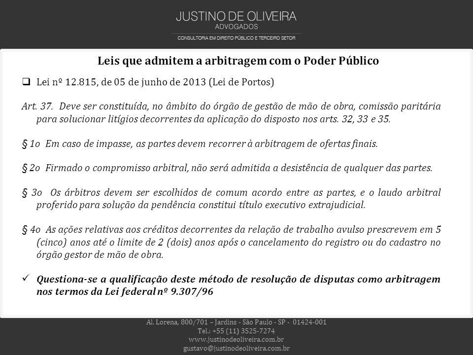 Al. Lorena, 800/701 – Jardins - São Paulo - SP - 01424-001 Tel.: +55 (11) 3525-7274 www.justinodeoliveira.com.br gustavo@justinodeoliveira.com.br Leis