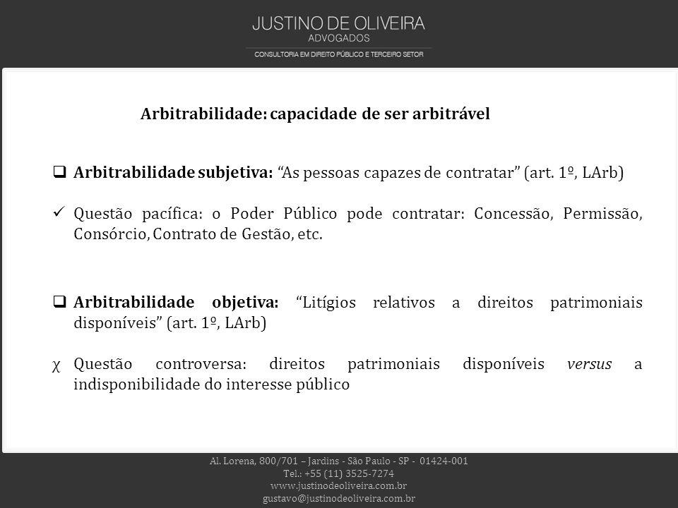 Al. Lorena, 800/701 – Jardins - São Paulo - SP - 01424-001 Tel.: +55 (11) 3525-7274 www.justinodeoliveira.com.br gustavo@justinodeoliveira.com.br Arbi