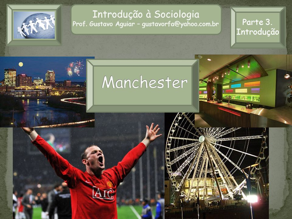 Introdução à Sociologia II Prof.Gustavo Aguiar – gustavorfa@yahoo.com.br Parte 2.