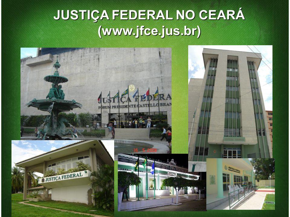 JUSTIÇA FEDERAL NO CEARÁ (www.jfce.jus.br)