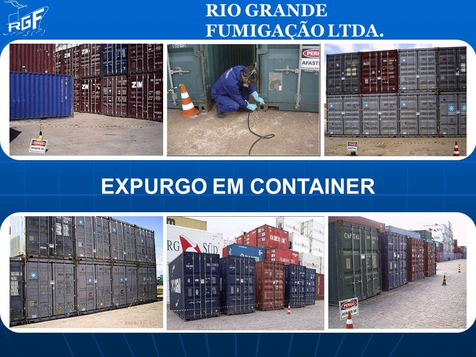 EXPURGO EM CONTAINER RIO GRANDE FUMIGAÇÃO LTDA.