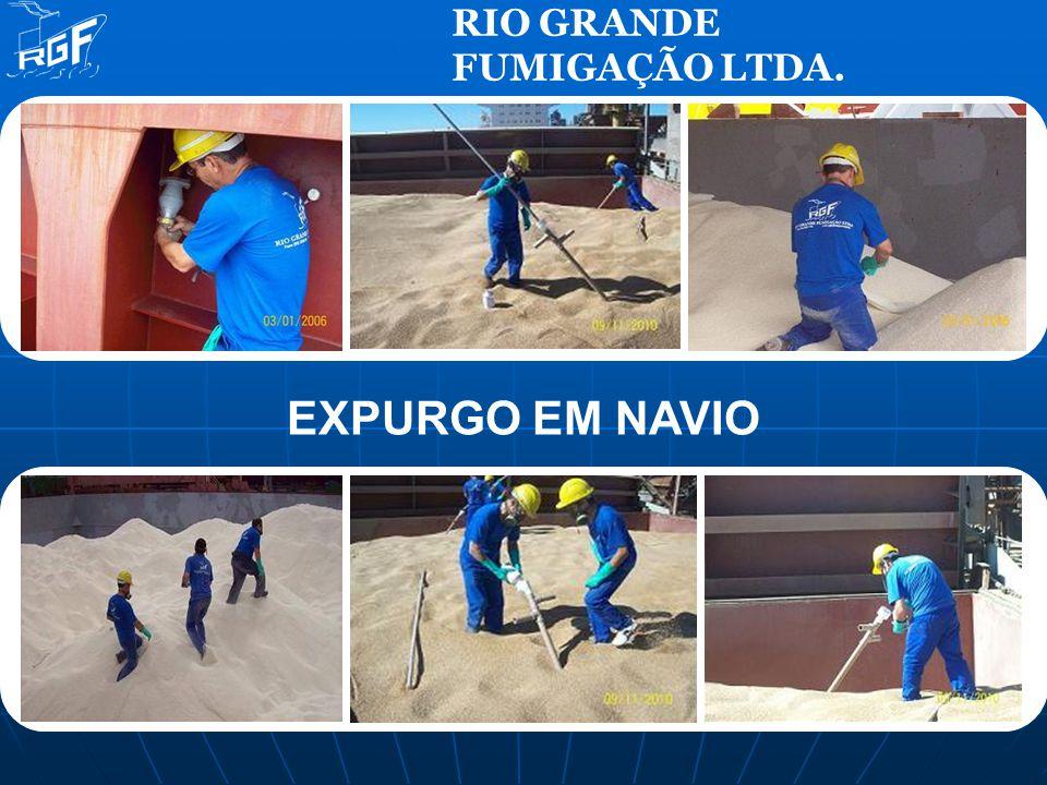 EXPURGO EM NAVIO RIO GRANDE FUMIGAÇÃO LTDA.